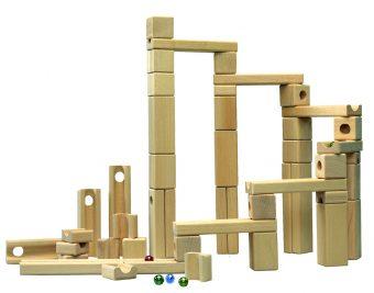 知育玩具 スカリーノ社「玉の道積み木スカリーノ基本セット」