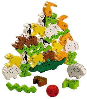 知育玩具 ハバ社「ワニに乗る」2
