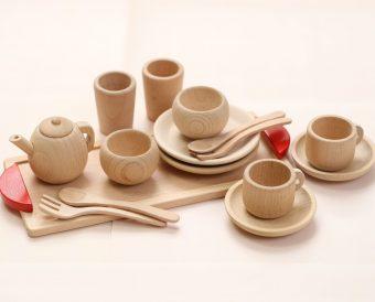 だいわ「おしゃれなカフェごっこ ミニ食器セット」1