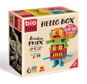 知育玩具 ジーピー「ビオブロ ハローボックス 100pcs」1