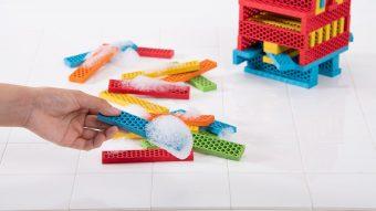 知育玩具 ジーピー「ビオブロ ハローボックス 100pcs」5