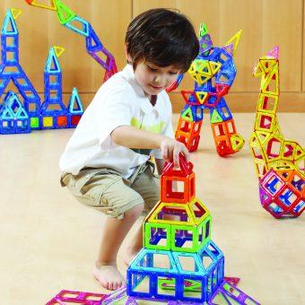 知育玩具 ボーネルンド「マグ・フォーマー ベーシックセット62ピース」2