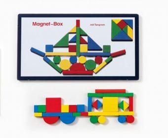 知育玩具 マグネットシュピーレ社「缶入りマグネット」