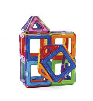 知育玩具 ボーネルンド「マグ・フォーマー ベーシックセット62ピース」4