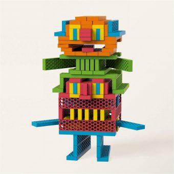 知育玩具 ジーピー「ビオブロ ハローボックス 100pcs」3