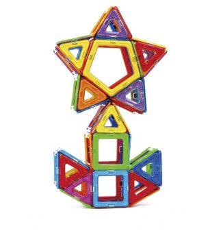 知育玩具 ボーネルンド「マグ・フォーマー ベーシックセット62ピース」3