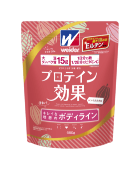 森永製菓「プロテイン効果」