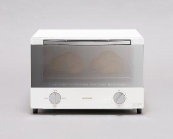 オーブントースター アイリスオーヤマ「スチームオーブントースター SOT-012-W」1