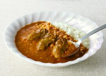 レインボー食品「広島名産かきカレー」3