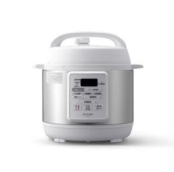 アイリスオーヤマ「電気圧力鍋 3.0L PC-EMA3-W」1