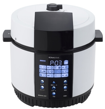 シー・シー・ピー「BONABONA 電気圧力鍋BD-PC71」1
