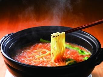 かねふく「明太もつ鍋」3