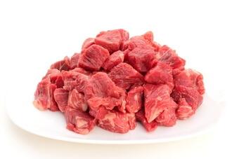 レトルトカレーの肉の具材