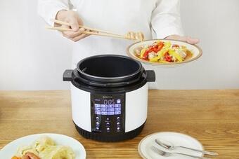 シー・シー・ピー「BONABONA 電気圧力鍋BD-PC71」3