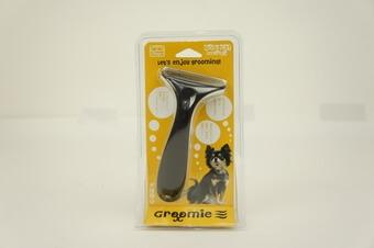 犬用スクラッチャーブラシ IDOG&ICAT『Groomieアンダーコートケアブラシ』2