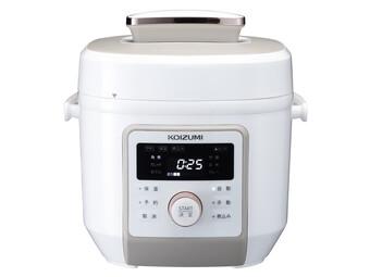 KOIZUMI「マイコン電気圧力鍋 KSC-4501/W」1