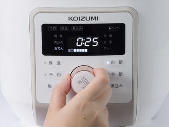 KOIZUMI「マイコン電気圧力鍋 KSC-4501/W」2