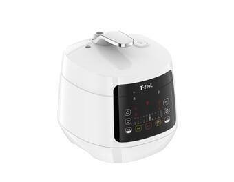 ティファール「ラクラ・クッカー コンパクト 電気圧力鍋」1