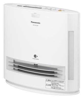 Panasonic「加湿機能付きセラミックファンヒーター DS-FKX1205」1