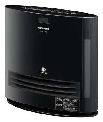 Panasonic「加湿機能付きセラミックファンヒーター DS-FKX1205」2