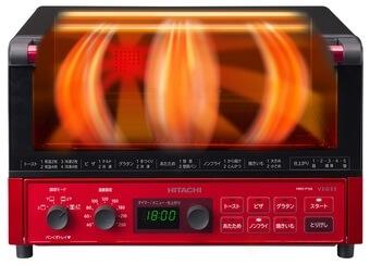 日立「コンベクションオーブントースターHMO-F100」3