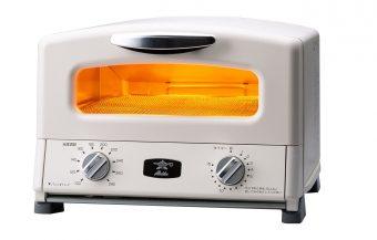 オーブントースター アラジン「グラファイト グリル&トースター AGT-G13A(G)/(W)」2