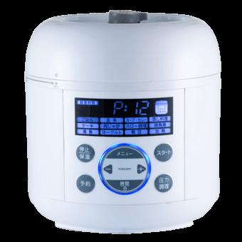 maxzen「コンパクト 電気圧力鍋 PCE-MX301-WH」
