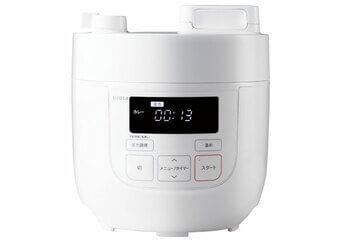 シロカ「電気圧力鍋 SP-D121(スロー調理機能なし)」1