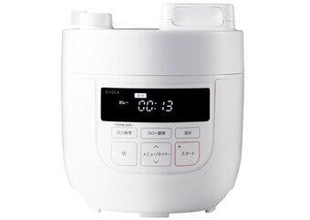 シロカ「電気圧力鍋 SP-D131」1