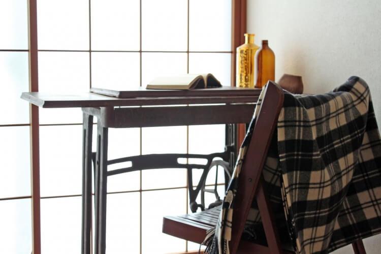 椅子にかけられた電気ブランケット