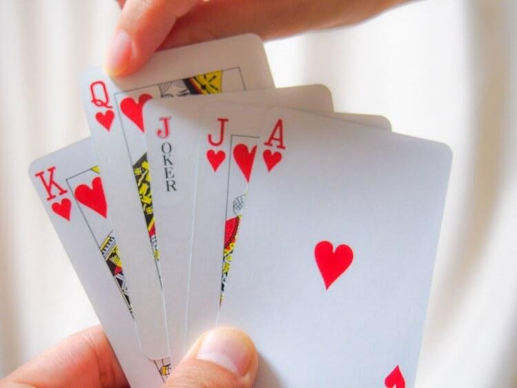 カードゲームの代表格トランプ