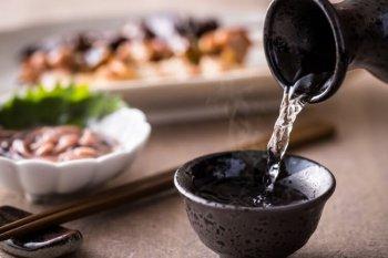 日本酒と冷凍食品