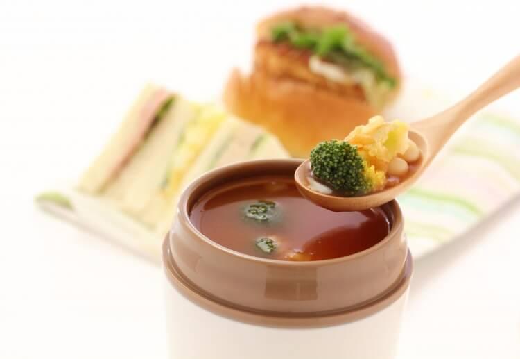 スープジャーのスープ