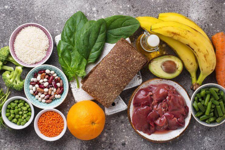 葉酸を含む食べ物